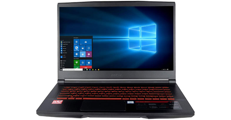 MSI CUK GF63 8RD - Best Laptops For Civil Engineering Students