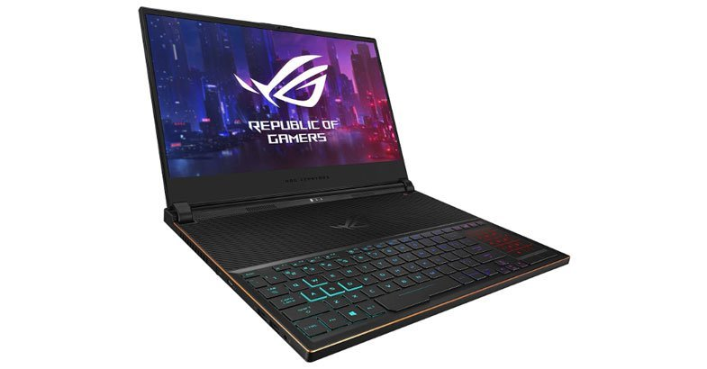 ASUS ROG Zephyrus S - Best Gaming Laptops Under $2000