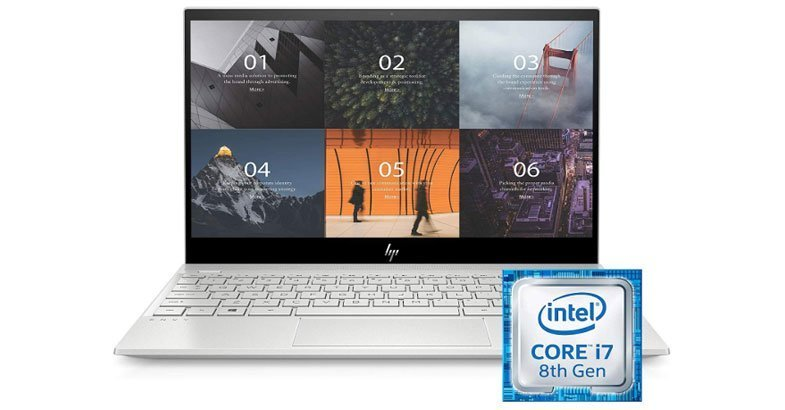 HP ENVY 13 - Best Laptops For Photo Editing