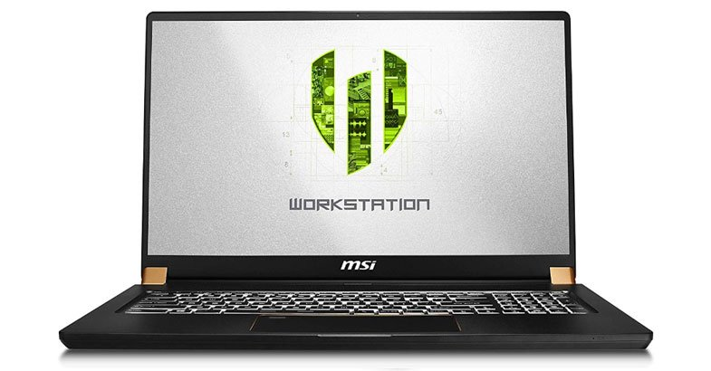 MSI WS75 9TL-496 - Best Laptops For AutoCAD
