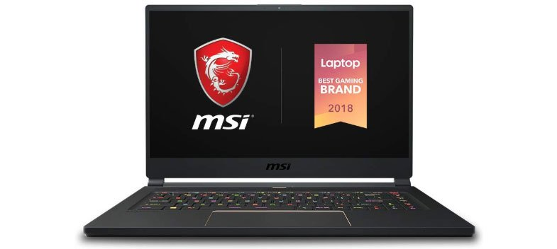 MSI GS65 Stealth-483 - Best Laptops For Graphic Design Students