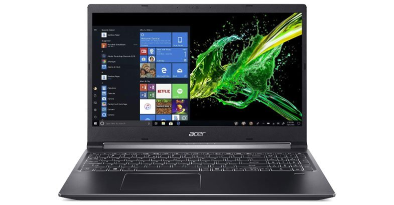 Acer Aspire 7 - Best Laptops For Kali Linux