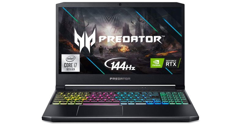 Acer Predator Helios 300 - Best Laptops For SolidWorks