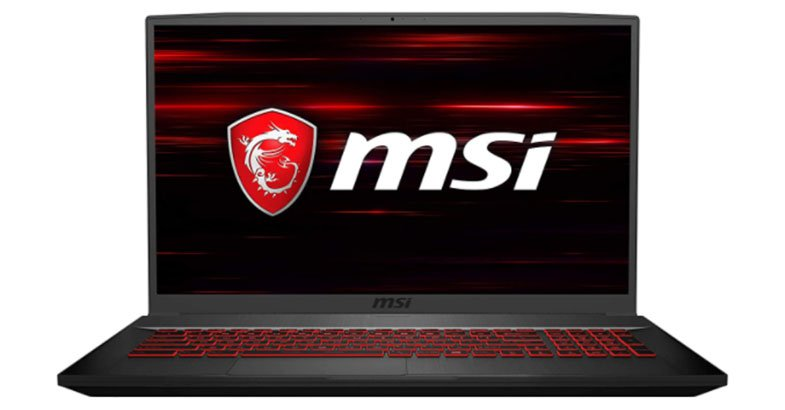 MSI GF75 10SCXR - Best 17 Inch Laptops Under 1000
