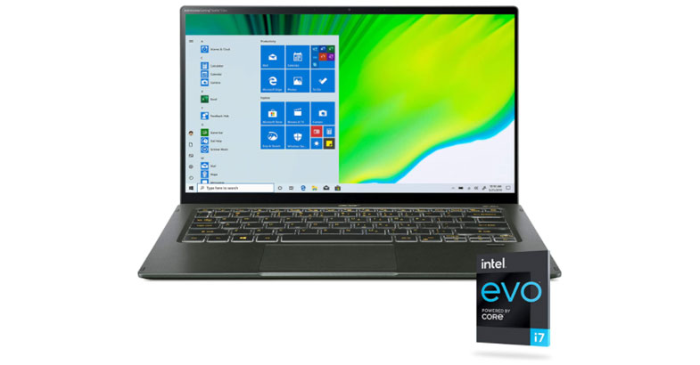 Acer Swift 5 - Best Ultrabook For Law School Students
