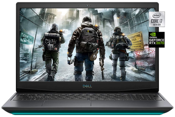 Dell G5 15 - Best Gaming Laptops Under $2000