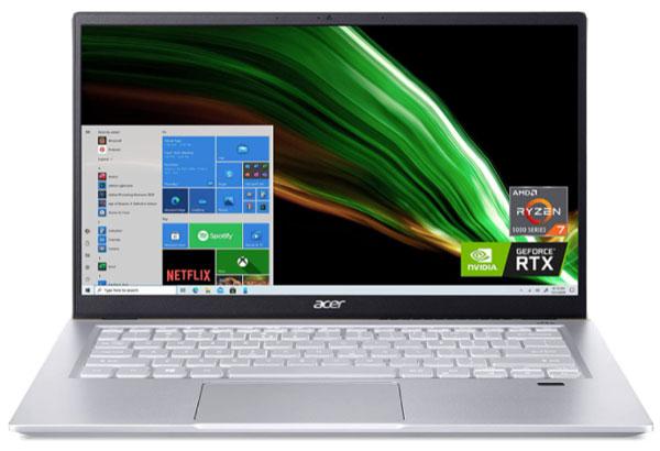 Acer Swift X - Best Laptops For QuickBooks